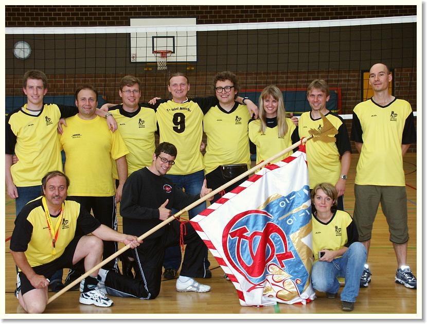 Unser Volleyball-Team